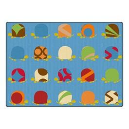 """Turtles Rug - Fancy Prancy (6\' W x 8\' 4\"""" L)"""