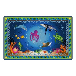 Into the Deep Preschool Rug