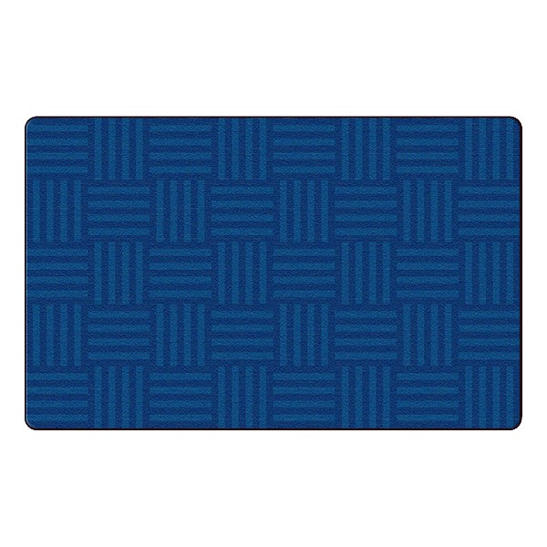 Hashtag Tone on Tone Rug - Blue