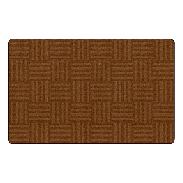 Hashtag Tone on Tone Rug - Chocolate