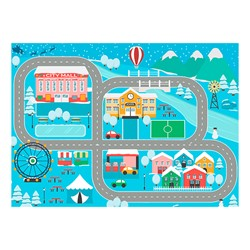 "Snow Place Like Home Rug (6' W x 8' 4"" L)"