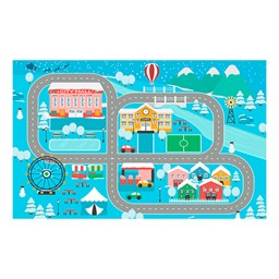 """Snow Place Like Home Rug (7' 6"""" W x 12' L)"""