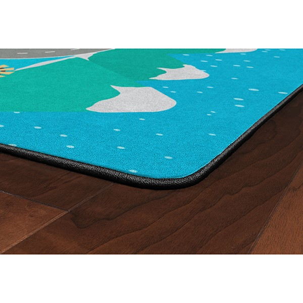 """Snow Place Like Home Rug (6' W x 8' 4"""" L)"""