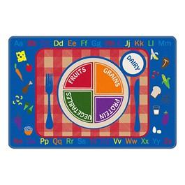 Pick-A-Plate Rug (6\' W x 9\' L)