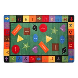 Flagship Carpets Simple Shapes Rug At School Outfitters