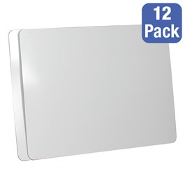 "Magnetic Dry Erase Boards - Pack of 12 (24"" W x 18\"" H)"