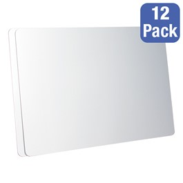 """Magnetic Dry Erase Boards - Pack of 12 (36\"""" W x 24\"""" H)"""