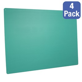 """Green Chalkboards - Pack of 4 (48\"""" W x 36\"""" H)"""
