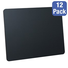 "Black Chalkboards - Package of 12 (24"" W x 18\"" H)"