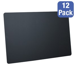 "Black Chalkboards - Package of 12 (36"" W x 24\"" H)"
