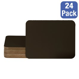 Chalkboard Lapboard Sets - Package of 24 (Black)