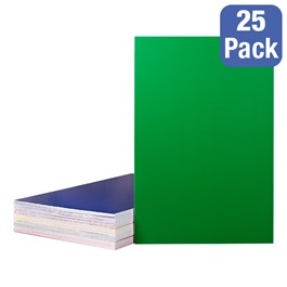 Assorted-Color Foam Board Sheets - Pack of 25