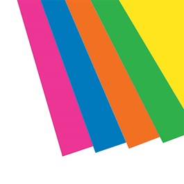 Assorted Neon Foam Project Boards - Pack of 10