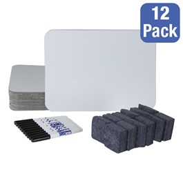 Magnetic Dry Erase Lapboard Set