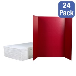 Assorted-Color Foam Project Boards - Pack of 24 (Includes a variety of colors)