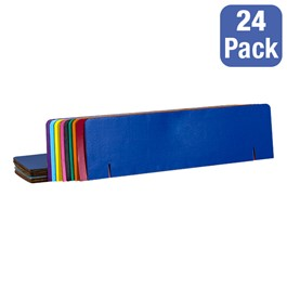 Assorted-Color Corrugated Project Board Headers