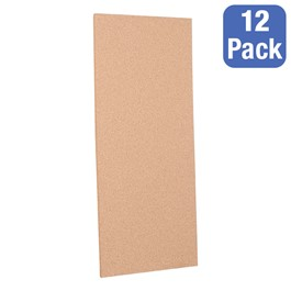 "Cork Panels - Pack of 12 (16\"" W x 36\"" H)"