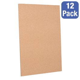 "Cork Panels - Pack of 12 (24"" W x 36\"" H)"