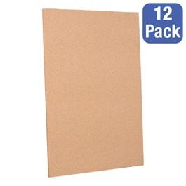 "Cork Panels - Pack of 12 (24\"" W x 36\"" H)"