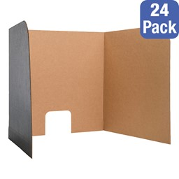 Package of 24 Computer Lab Privacy Screens