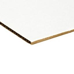 Assorted-Color Corrugated Tri Fold Boards
