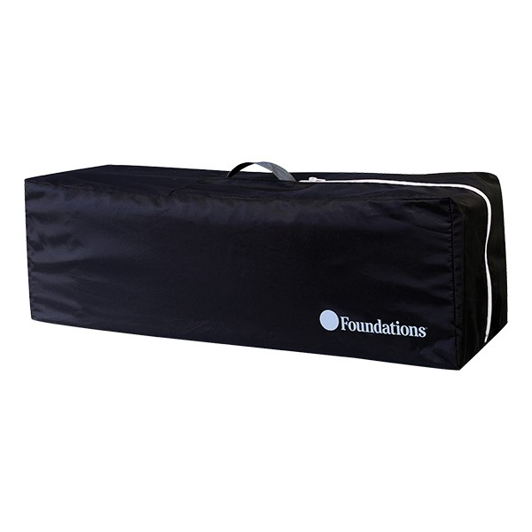 SnugFresh Celebrity Play Yard Safety Crib - Carry Bag - Graphite