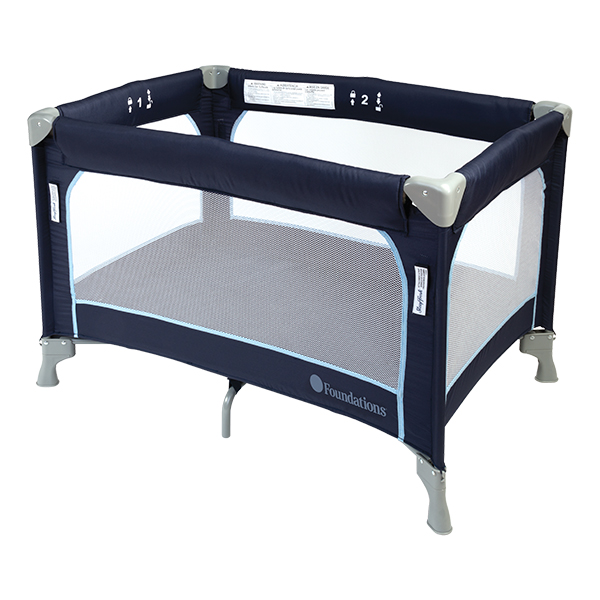 Foundations Worldwide SleepFresh Celebrity Play Yard Safety Crib