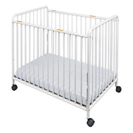 Chelsea Slatted Steel Safety Crib