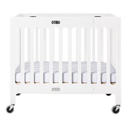 Boutique Folding Wood Compact Crib