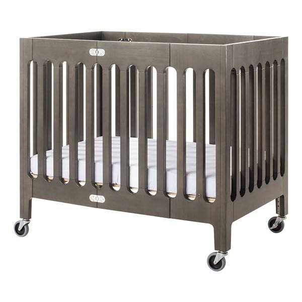 Boutique Folding Wood Compact Crib