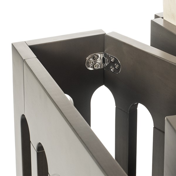 Boutique Folding Wood Compact Crib - Hardware