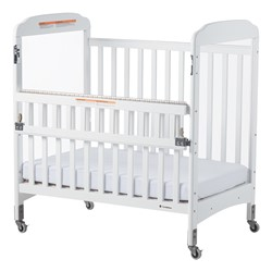 Next Generation Serenity SafeReach Clearview Compact Safety Crib - White