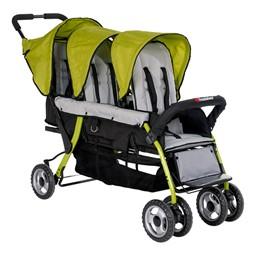 Trio Sport Tandem Stroller - Lime