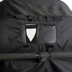 Quad Sport Stroller - Orange - Canopy detail