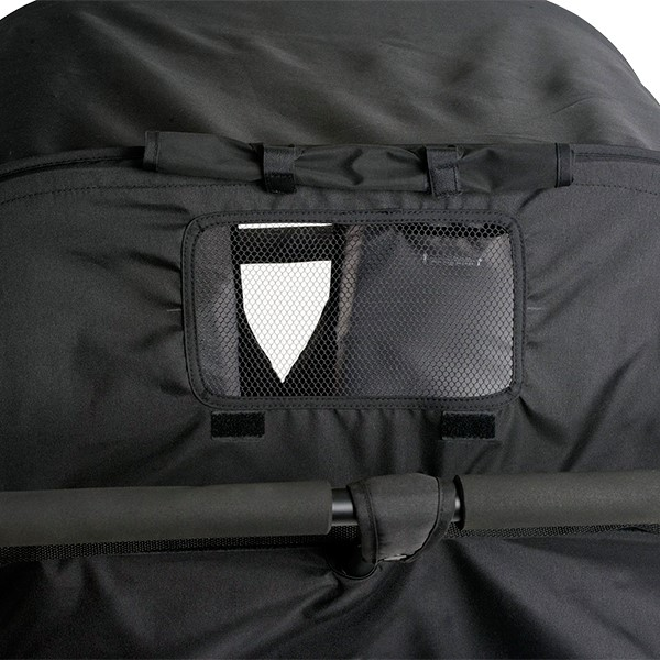 Quad Sport Stroller - Red - Canopy detail