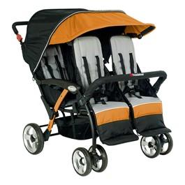 Quad Sport Stroller - Orange