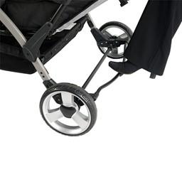 Quad Sport Stroller - Red - Foot brake detail