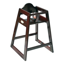 Classic Wood High Chair - Antique Cherry