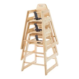 NeatSeat Hardwood High Chair - Stacked