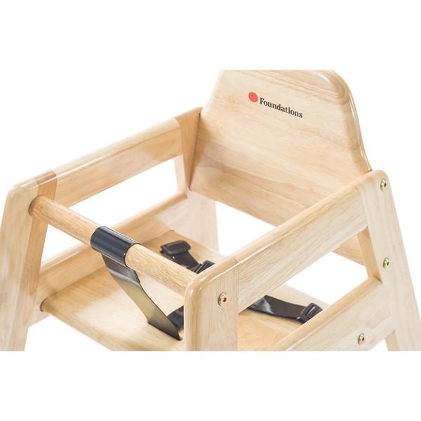 NeatSeat Hardwood High Chair - Natural