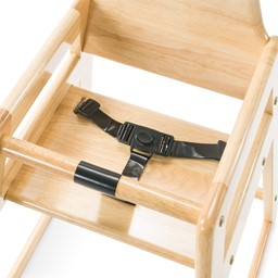 NeatSeat Hardwood High Chair