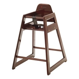 NeatSeat Hardwood High Chair - Antique Cherry