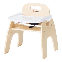 """Easy-Serve Wood Chair (11\"""" Seat Height)"""