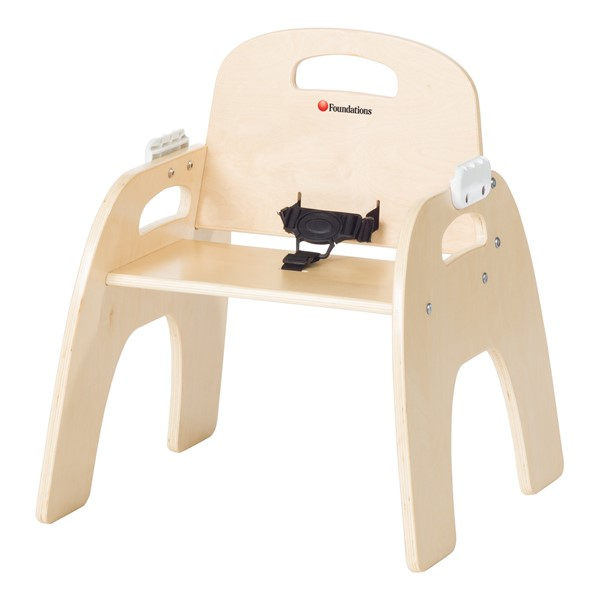 "Easy-Serve Wood Chair (11"" Seat Height)"