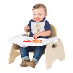 Easy-Serve Wood Chair