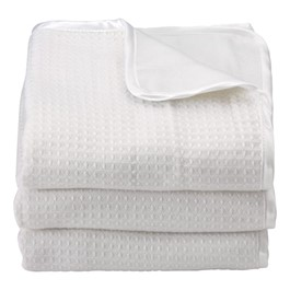Pack of Six ThermaLux Acrylic Crib Blankets