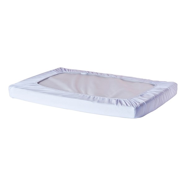 Pack of Six SafeFit Elastic Fitted Crib Sheets - Compact - White