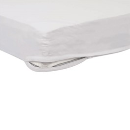 Pack of Six SafeFit Zippered Sheets - Compact - White
