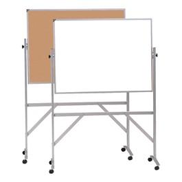 Reversible Markerboard/Corkboard w/ Aluminum Frame