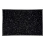 Recycled Rubber Tackboard w/ Aluminum Frame